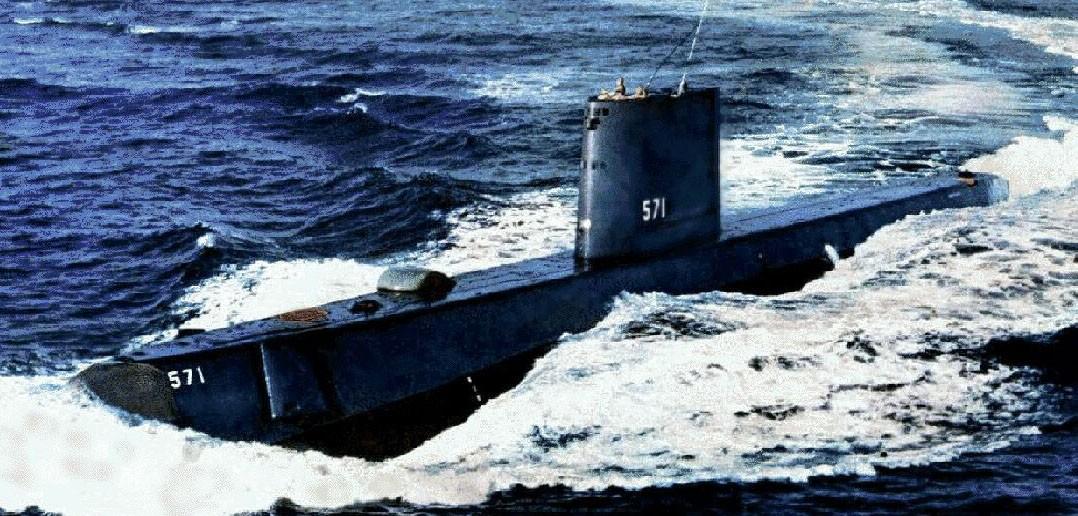 USS Nautilius - pierwszy okręt o napędzie atomowym