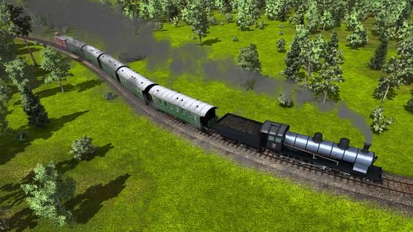 """Pierwszy """"szybki"""" pociąg"""
