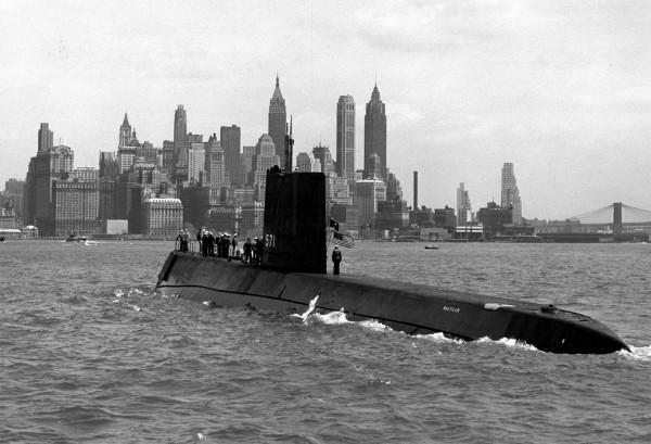 USS Nautilus - pierwszy okręt o napędzie atomowym