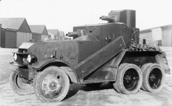 Crossley Armoured Car z 1930 roku