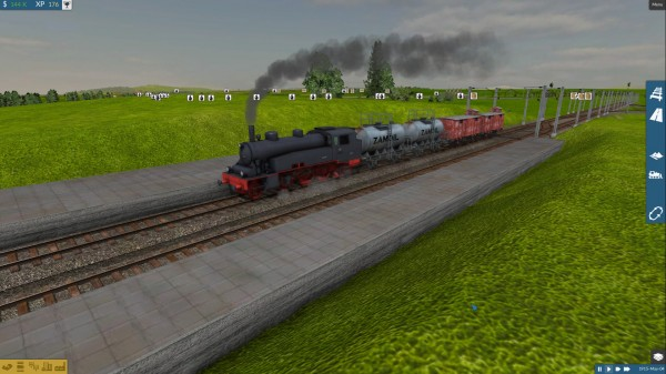 Każdy pociąg może składać się z różnych wagonów