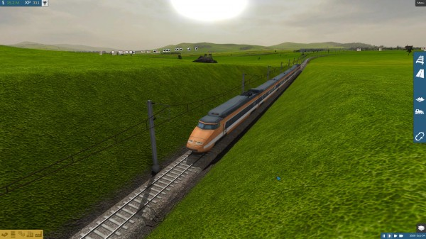 Najszybsze pociągi osiągają szybkość 300 km/h