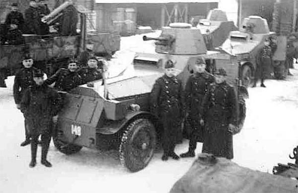 Estońskie samochody pancerne M1927