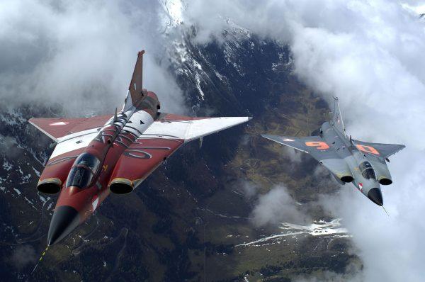 Austriackie J35 Draken