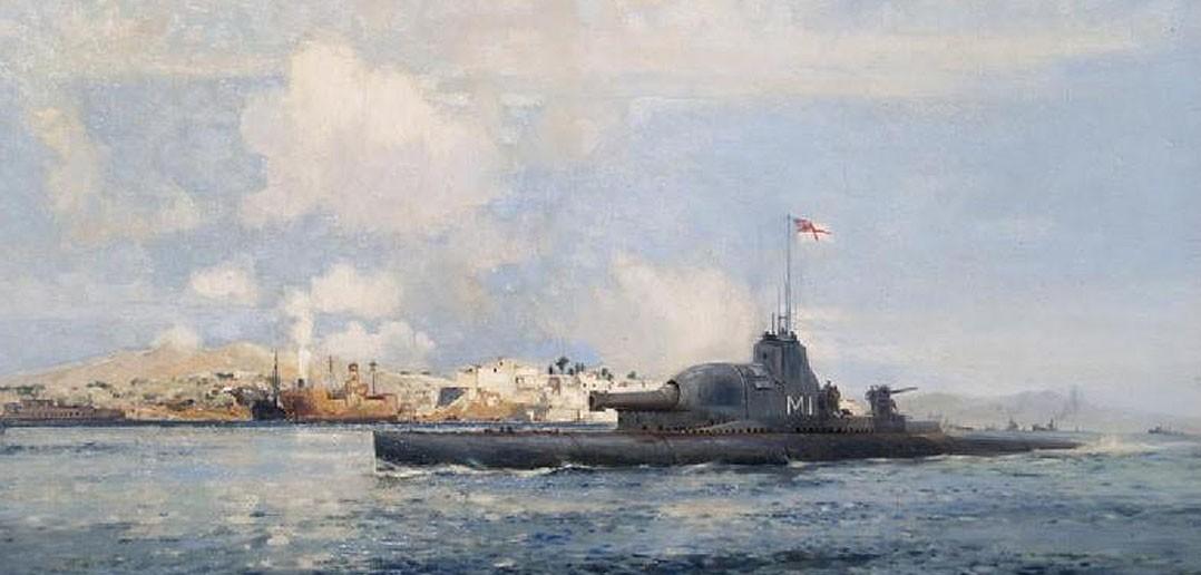 Okręty podwodne typu M