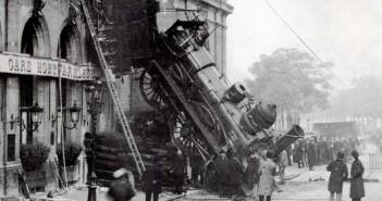 Katastrofa kolejowa na Gare Montparnasse