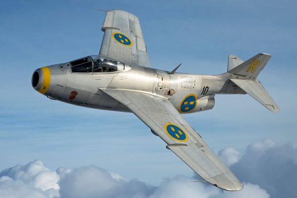 Saab J29 Tunnan (fot. nieznany)