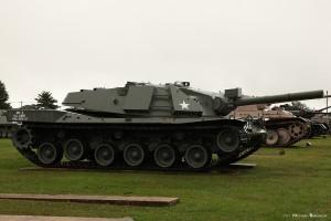MBT-70 w Aberdeen Proving Grounds (fot. Michał Banach)