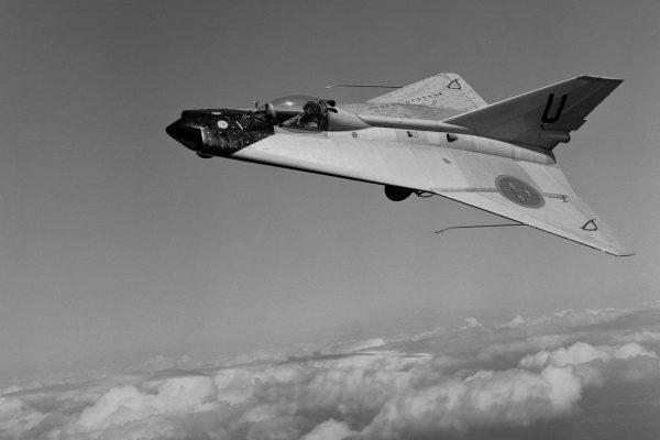 Saab 210 - eksperymentalny samolot służący do testów skrzydeł w układzie podwójnej delty