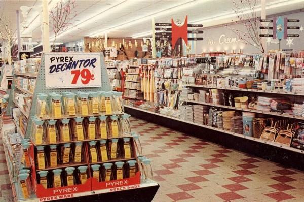 Supermarket w latach 50.