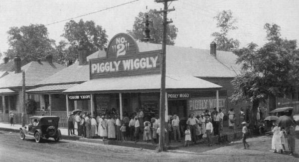 Jeden z supermarketów Piggly Wiggly