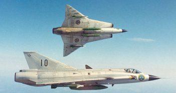 Saab J35 Draken - pierwszy europejski myśliwiec naddźwiękowy