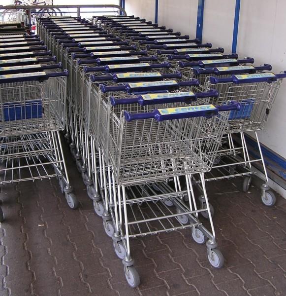 Wózki sklepowe współcześnie