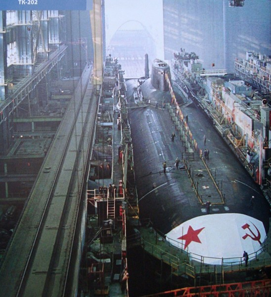 Typhoon w czasie budowy