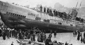 U-boat na plaży - historia SM U-118