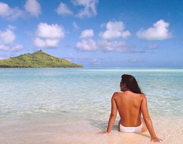 Jennifer in Paradise - pierwsze zmanipulowane photoshopem zdjęcie (fot. John Knoll)