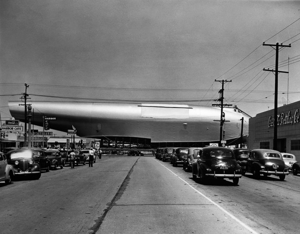 H-4 w Long Beach - 28 czerwca 1946 roku