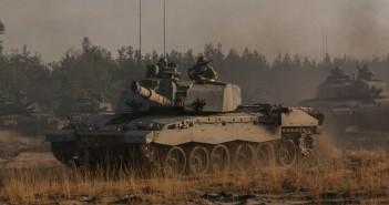 Brytyjskie czołgi w Polsce - zdjęcia