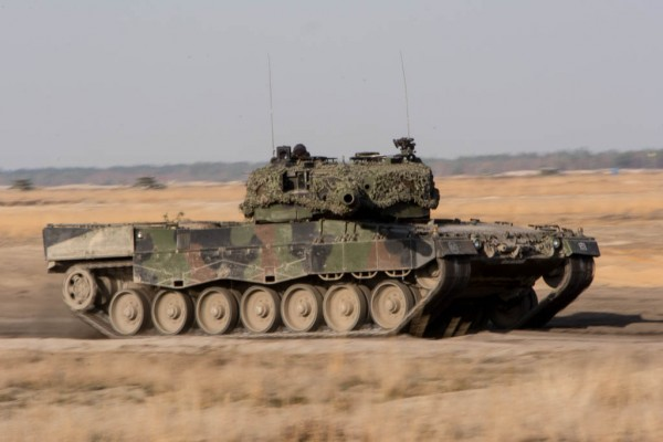 Leopard 2A4 (fot. chor. Rafał Mniedło)