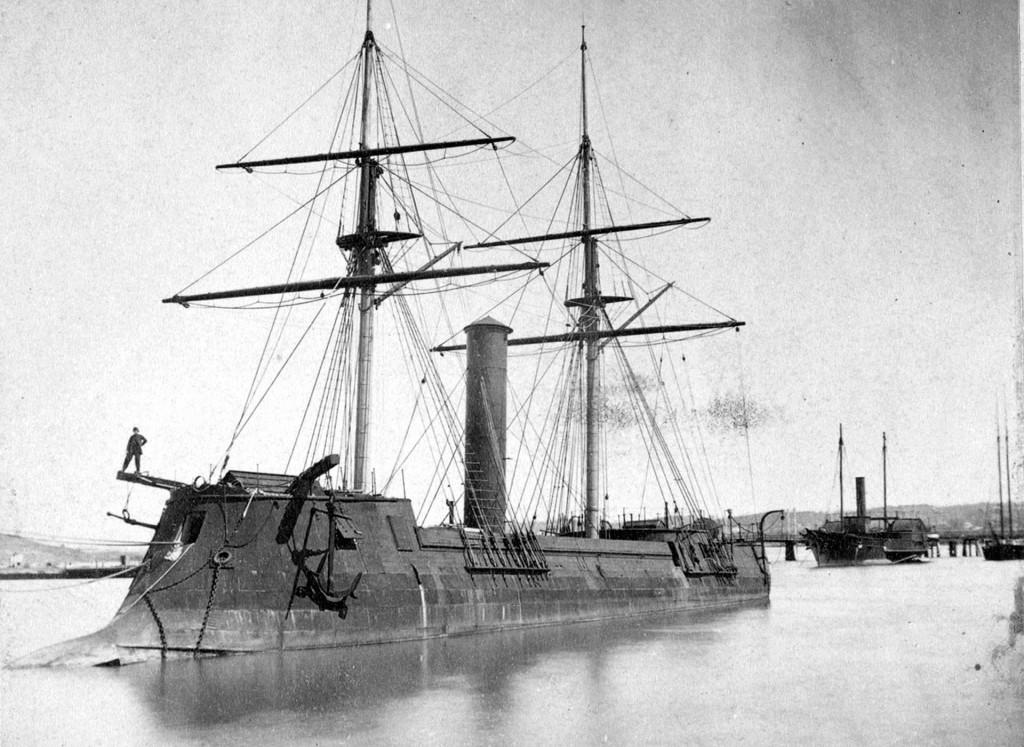 CSS Stonewall - jeden z konfederackich okrętów pancernych z czasów Wojny Secesyjnej