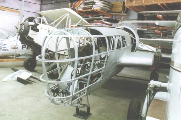 P-1 Explorer już po wstępnej renowacji w latach 70-tych