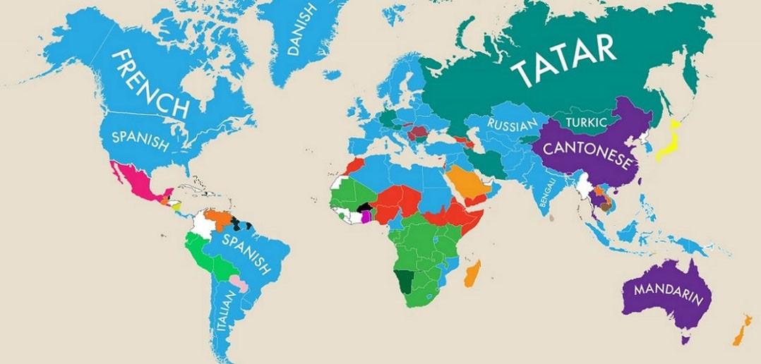Drugi najpopularniejszy język - infografika