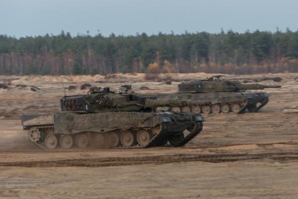 Leopardy 2A4 (fot. chor. Rafał Mniedło)