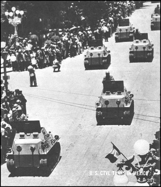 Meksykańskie czołgi CTVL