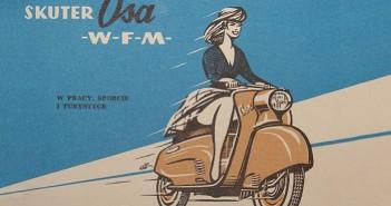Reklama skutera WFM Osa