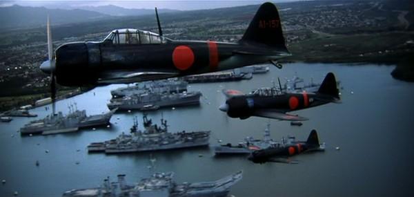 Scena z filmu fabularnego Pearl Harbor