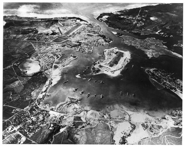 Pearl Harbor widok z powietrza