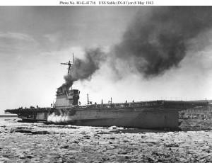 USS Sable - zdjęcie z 8 maja 1943 roku
