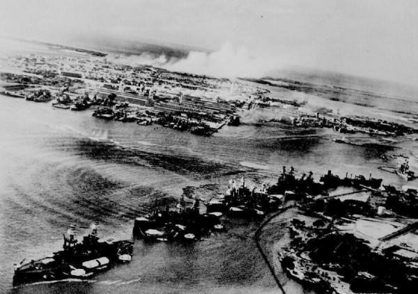 Pearl Harbor podczas ataku