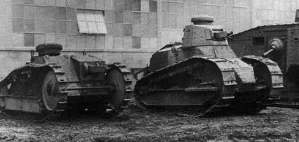 Ford 3-ton M1918 - amerykański mini-czołg