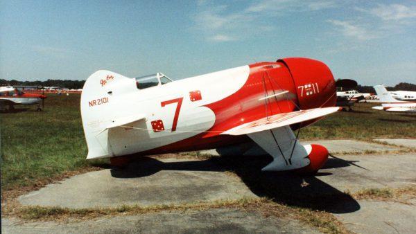 Replika Gee Bee R-2 (fot. SDASM Archives)