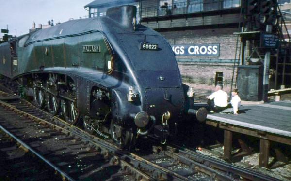 LNER Class A4 Mallard w latach 60.