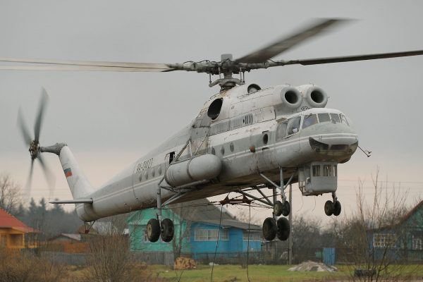 Mil Mi-10 (fot. Sergey Krivchikov)