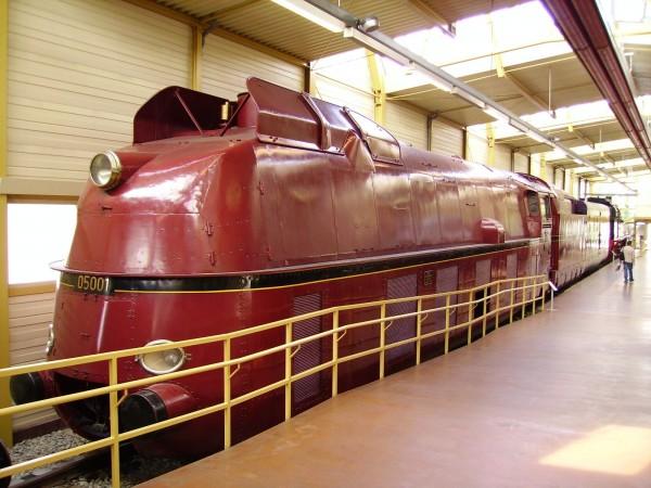 DRG Class 05 001 w muzeum w Norymberdze