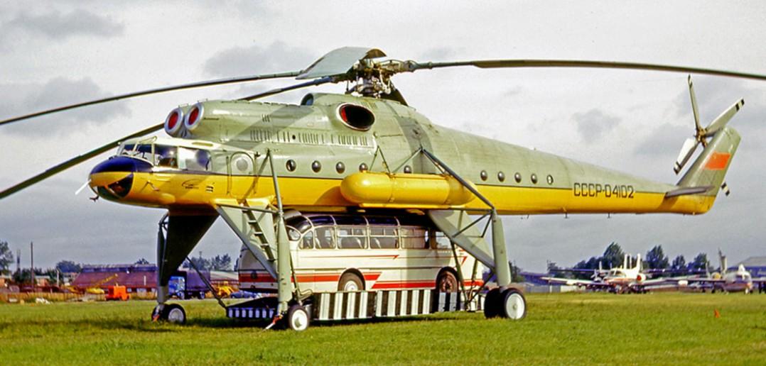 Mil Mi-10 - latający dźwig z ZSRR