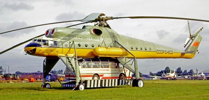 Mi-10 – latający dźwig