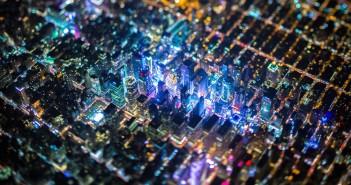 Nowy Jork z lotu ptaka (fot. Vincent Laforet)