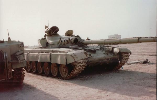 Zdobyty iracki T-72