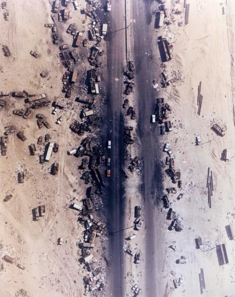 Fragment Autostrady Śmierci