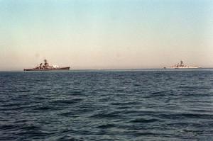 USS Missouri i USS Wisconsin