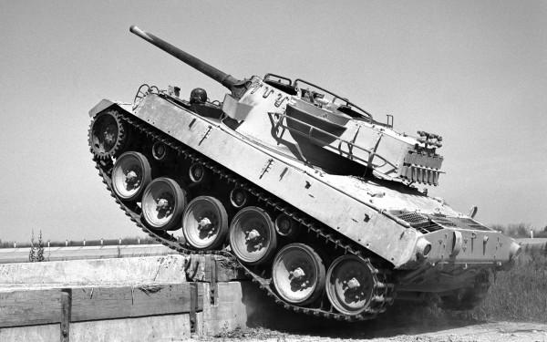 M18 Hellcat podczas testów