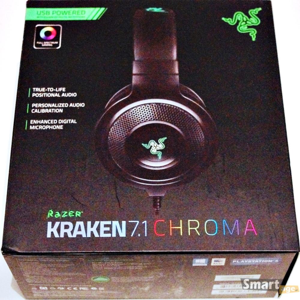 Razer Kraken 7.1 Chroma - test