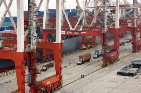 Port w Szanghaju