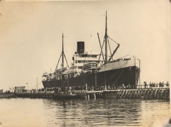 Kentucky - pierwszy zagraniczny statek w Porcie Gdynia, 13 sierpnia 1923 roku