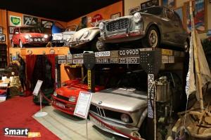 Od góry od lewej - Mini Cooper Sport 500 i Fiat Autobanchini Convertible (1970), Volkswagen Garbus i Lancia Appia (1959). Na dole od lewej Renault 5 Turbo (1985) i BMW 2002 Turbo (1974)