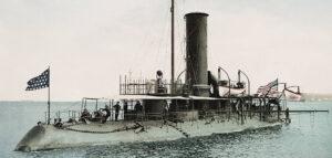 USS Katahdin - XIX-wiczny relikt antycznej idei